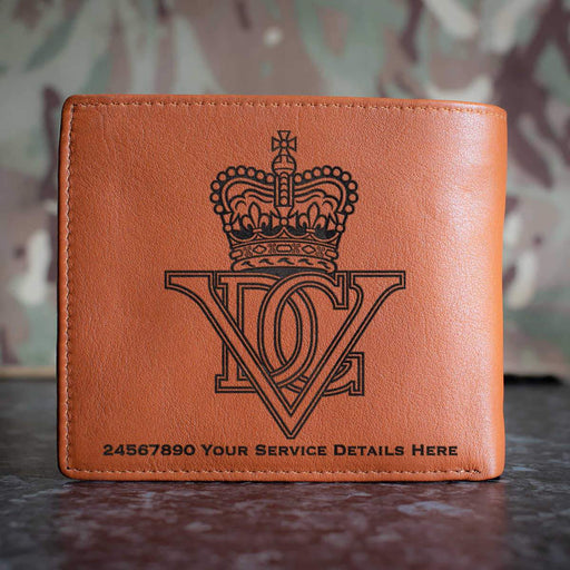5th Inniskilling Dragoon Guards Leather Wallet