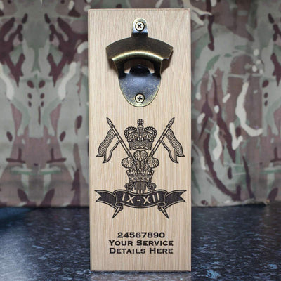 9th12th Lancers Wall-Mounted Bottle Opener