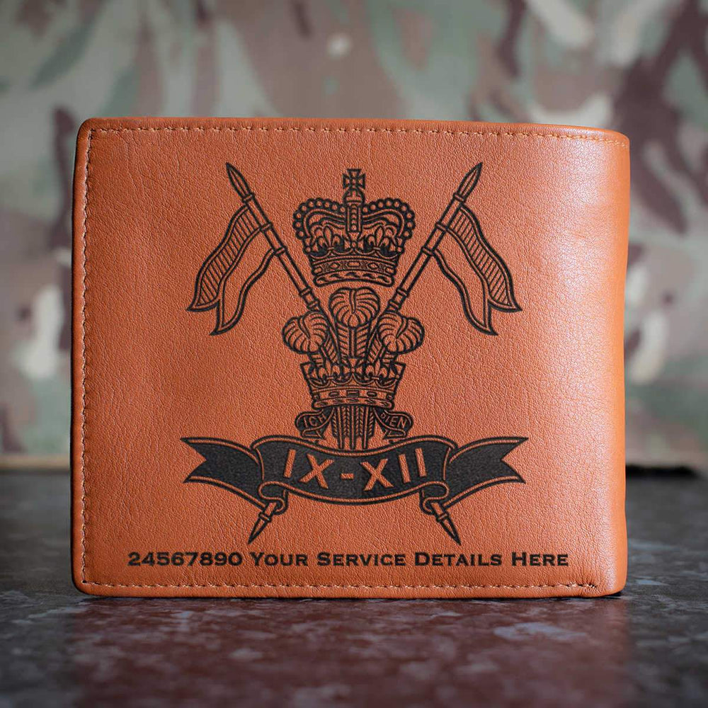 9th12th Lancers Leather Wallet