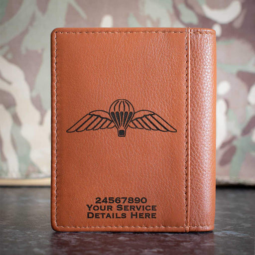 Airborne Wings Credit Card Wallet