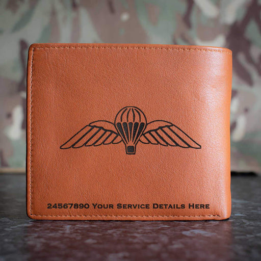 Airborne Wings Leather Wallet
