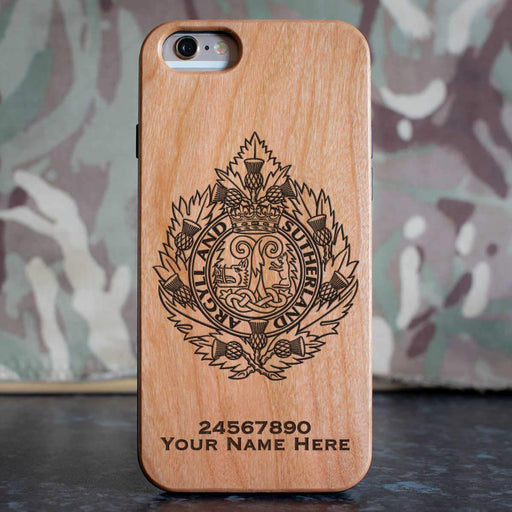 Argyll and Sutherland Highlanders Phone Case
