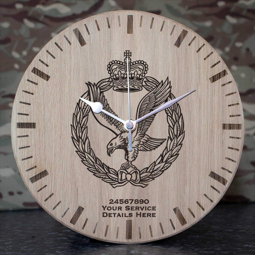 Army Air Corps Oak Clock