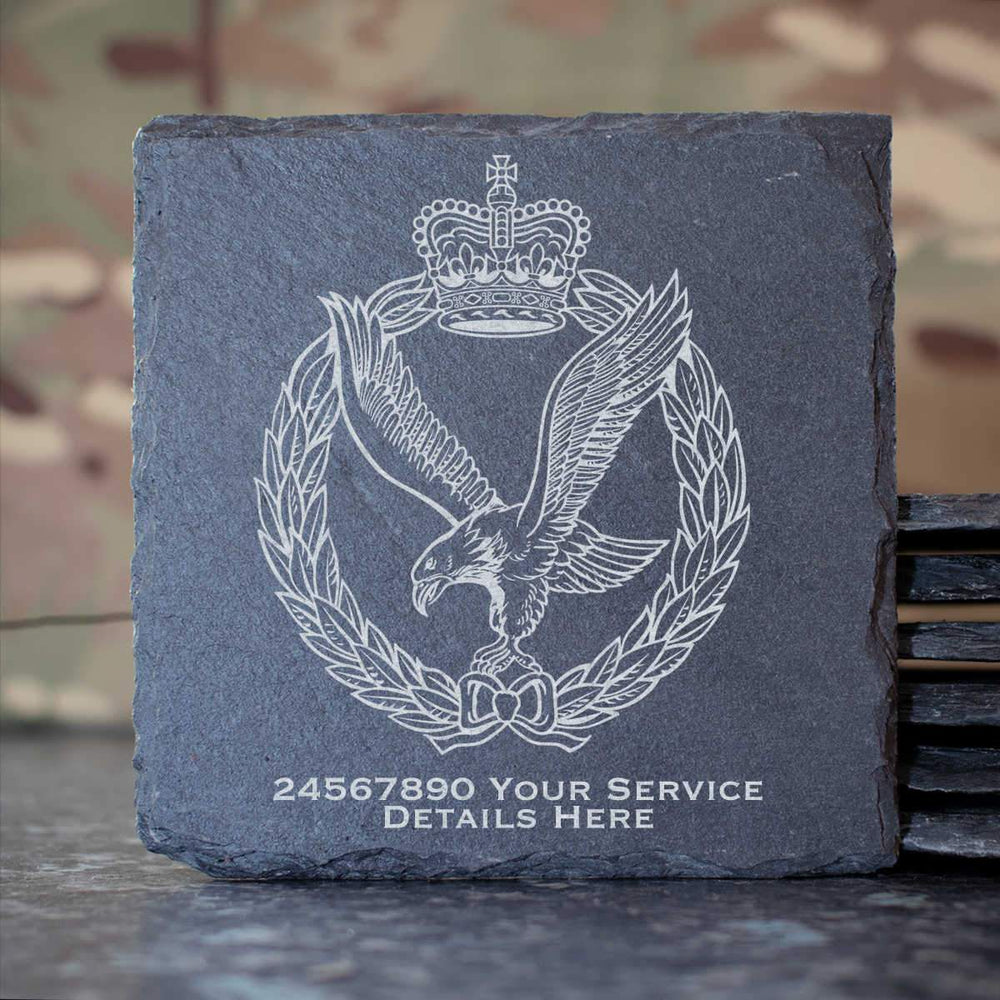 Army Air Corps Slate Coaster