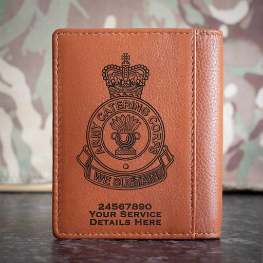 Army Catering Corps Credit Card Wallet