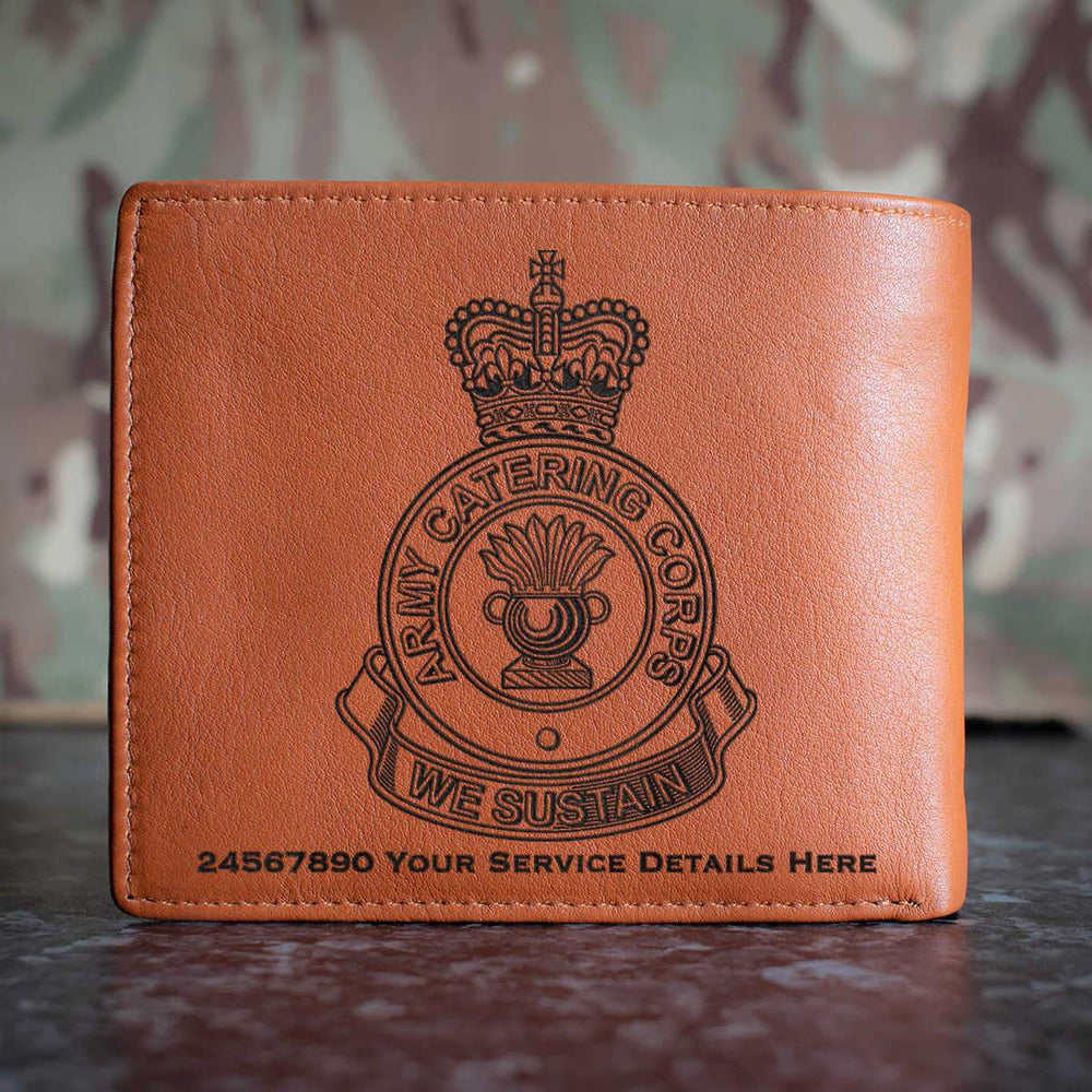 Army Catering Corps Leather Wallet