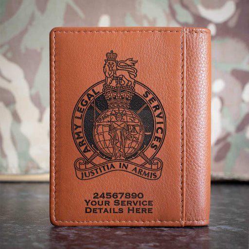 Army Legal Service Credit Card Wallet