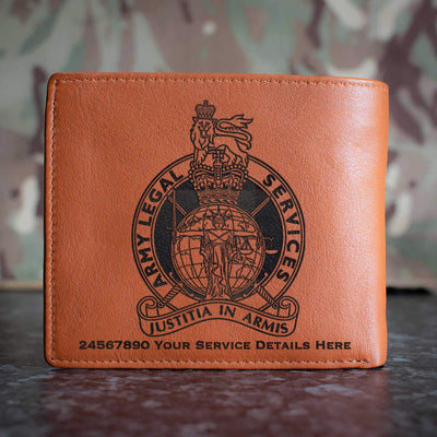 Army Legal Service Leather Wallet