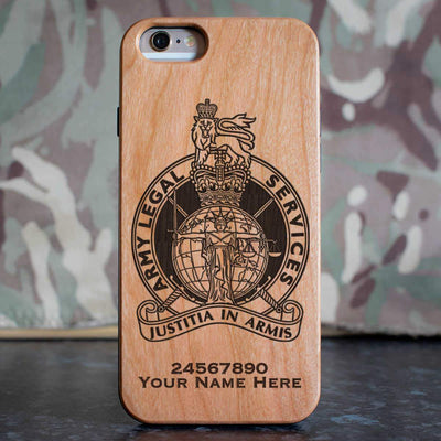 Army Legal Service Phone Case