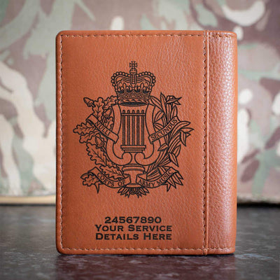Corps Of Army Music Credit Card Wallet