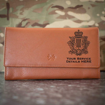 Corps Of Army Music Leather Purse