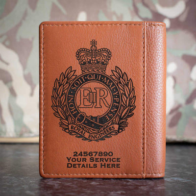 Royal Engineers Credit Card Wallet