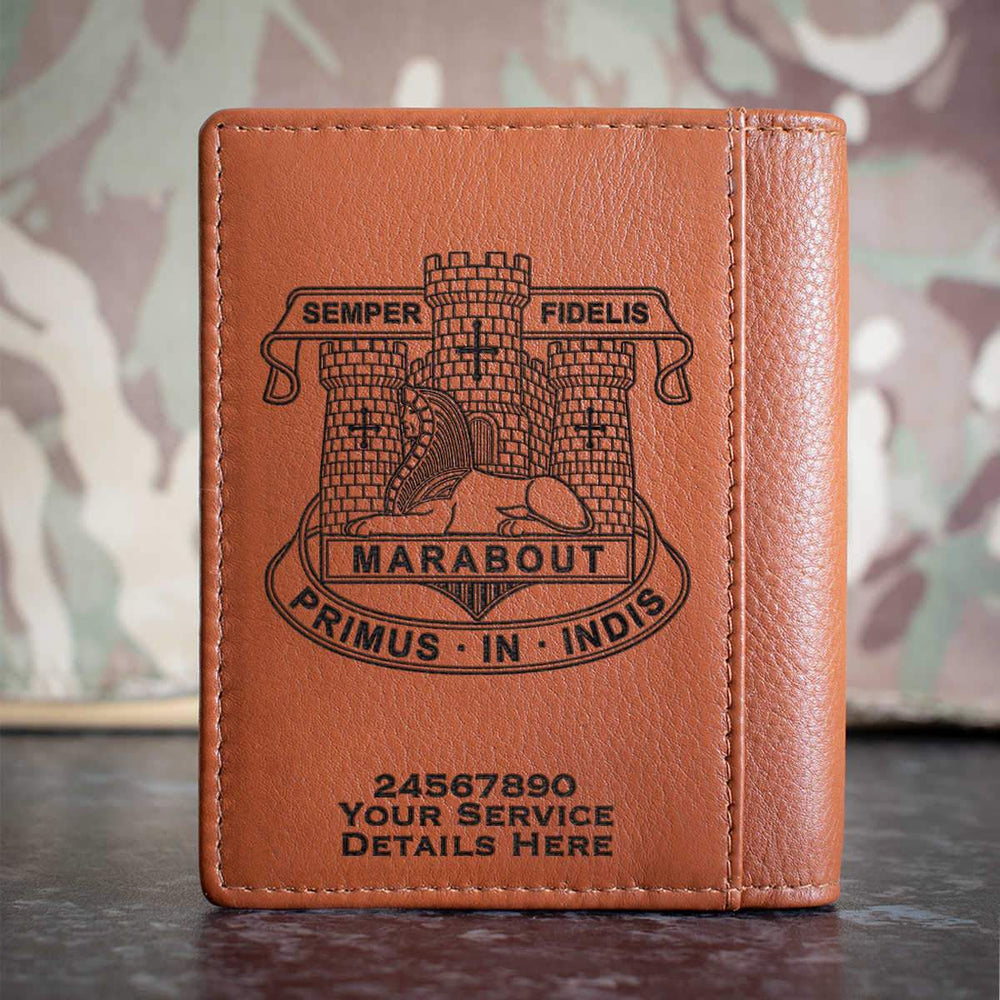 Devonshire and Dorset Light Infantry Credit Card Wallet