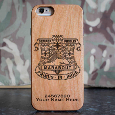 Devonshire and Dorset Light Infantry Phone Case