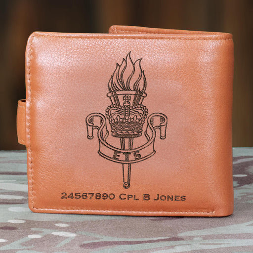 Education and Training Service Personalised Leather Wallet (026)