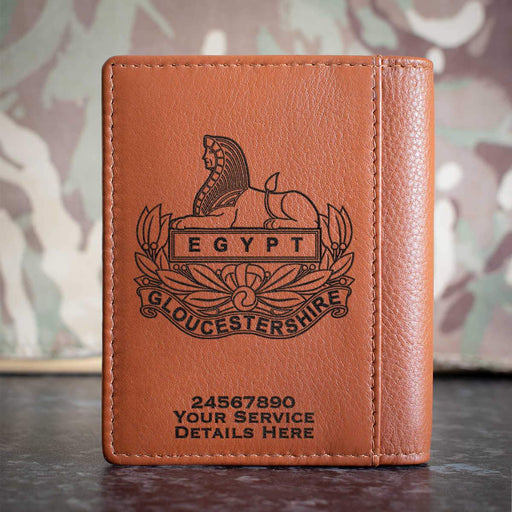 Gloucestershire Regiment Credit Card Wallet