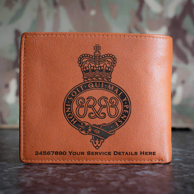 Grenadier Guards Leather Wallet