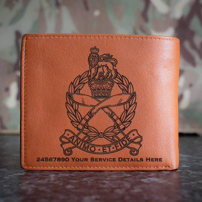 Gurkha Staff and Personnel Support Branch Leather Wallet