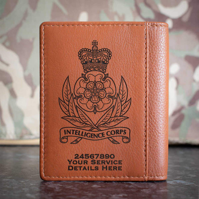Intelligence Corps Credit Card Wallet