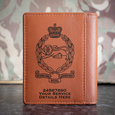 Kings Own Royal Border Regiment Credit Card Wallet