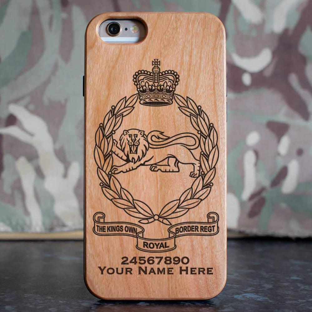 Kings Own Royal Border Regiment Phone Case