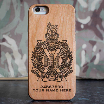 Kings Own Scottish Borderers Phone Case