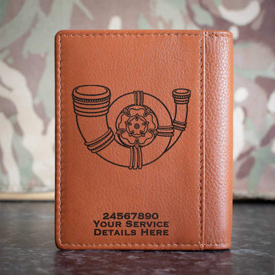 Kings Own Yorkshire Light Infantry Credit Card Wallet