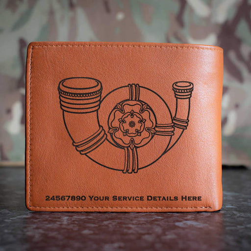 Kings Own Yorkshire Light Infantry Leather Wallet