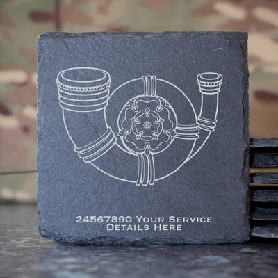 Kings Own Yorkshire Light Infantry Slate Coaster