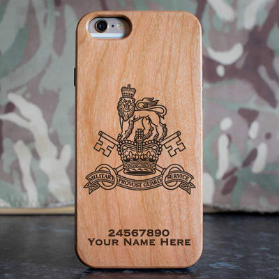 Military Provost Guard Service Phone Case