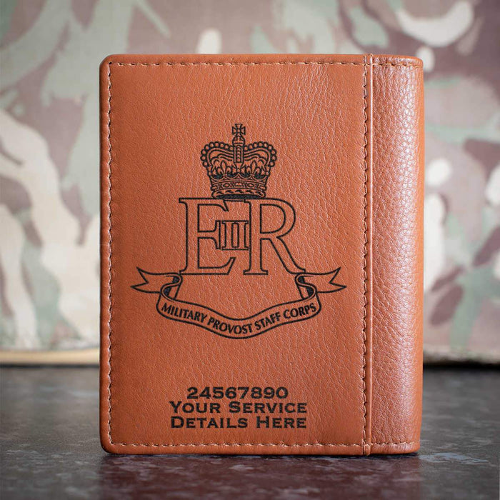 Military Provost Staff Corps Credit Card Wallet