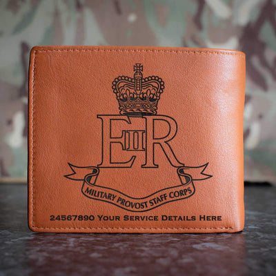 Military Provost Staff Corps Leather Wallet