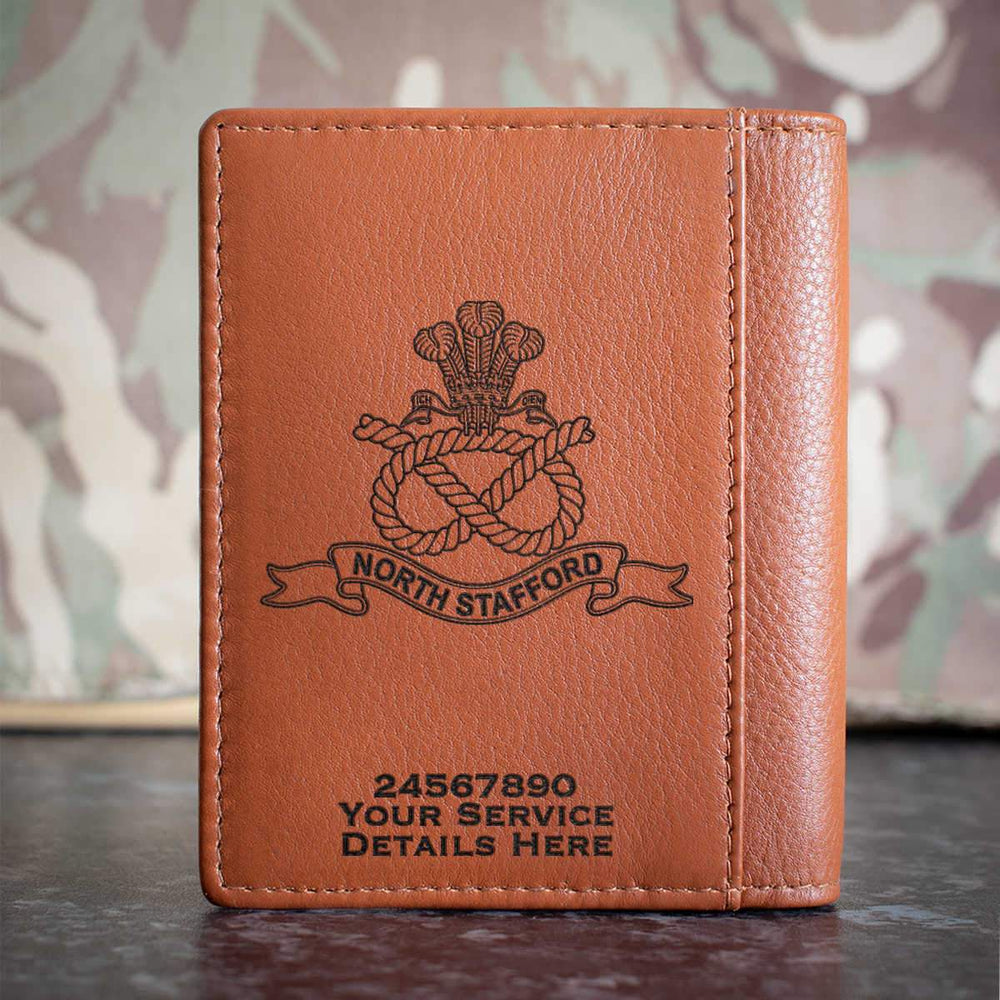 North Staffordshire Regiment Credit Card Wallet