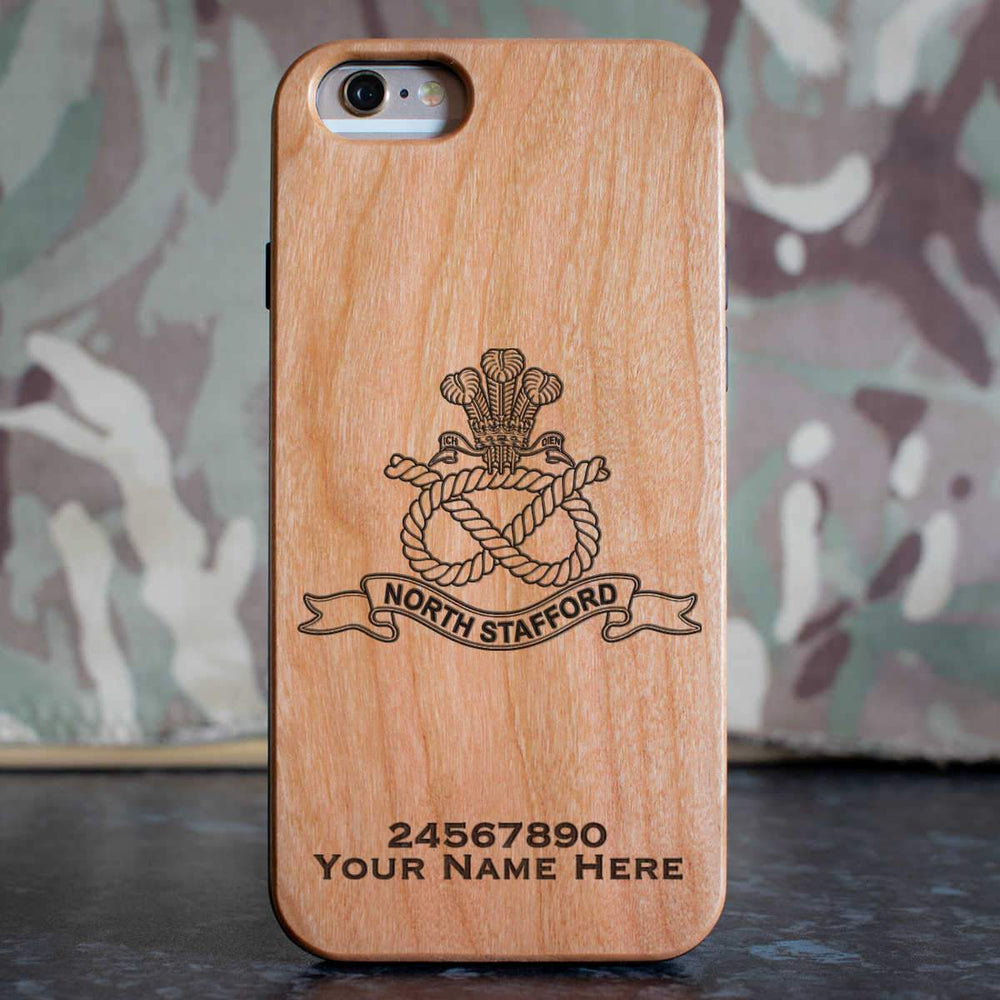 North Staffordshire Regiment Phone Case