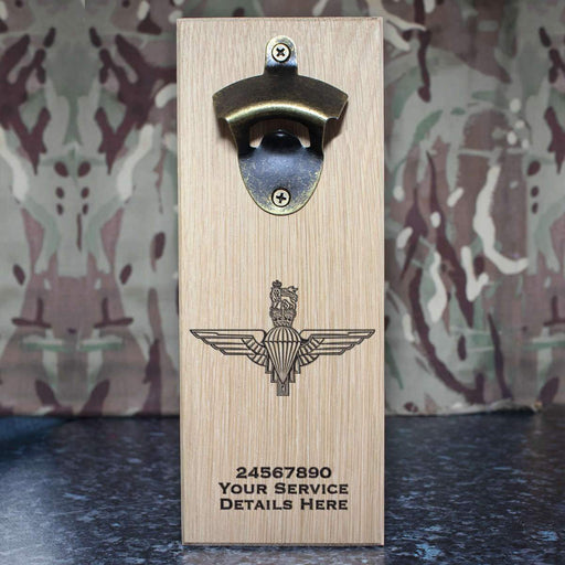 Parachute Regiment Wall-Mounted Bottle Opener