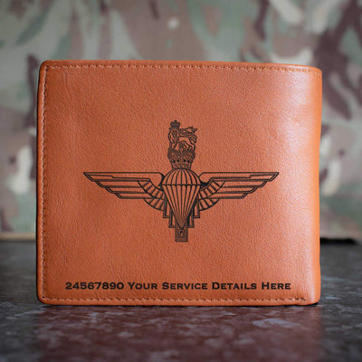 Parachute Regiment Leather Wallet