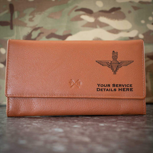 Parachute Regiment Leather Purse