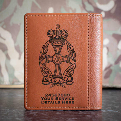Queen Alexandras Royal Army Nursing Corps Credit Card Wallet