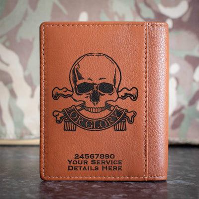 Queens Royal Lancers Credit Card Wallet