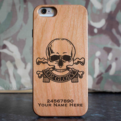 Queens Royal Lancers Phone Case