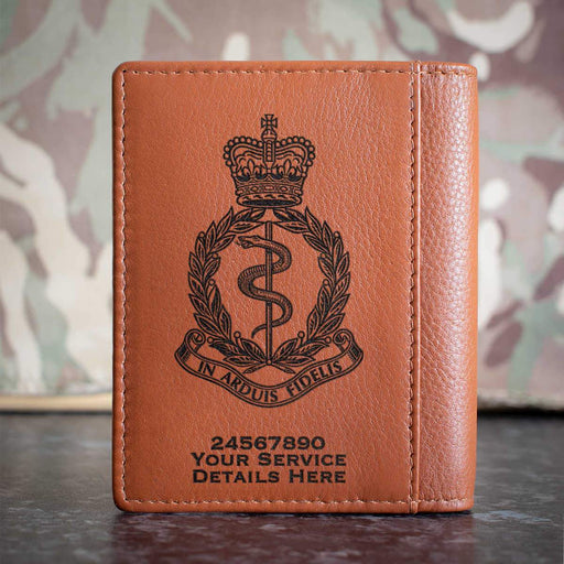 Royal Army Medical Corps Credit Card Wallet