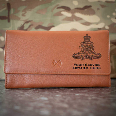 Royal Artillery Leather Purse