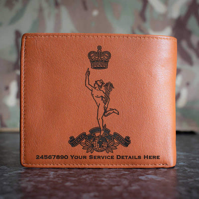Royal Corps of Signals Leather Wallet