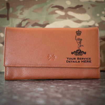 Royal Corps of Signals Leather Purse