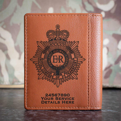 Royal Corps of Transport Credit Card Wallet