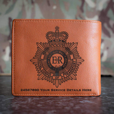 Royal Corps of Transport Leather Wallet