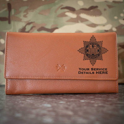 Royal Dragoon Guards Leather Purse