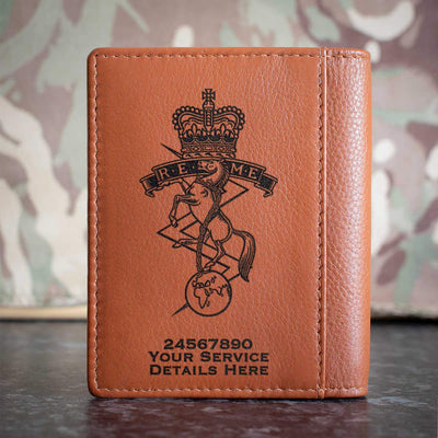 Royal Electrical and Mechanical Engineers Credit Card Wallet