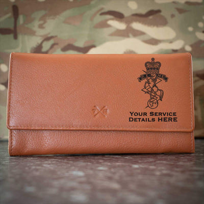 Royal Electrical and Mechanical Engineers Leather Purse