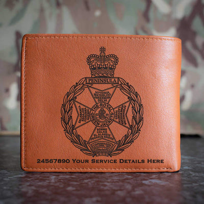 Royal Green Jackets Leather Wallet